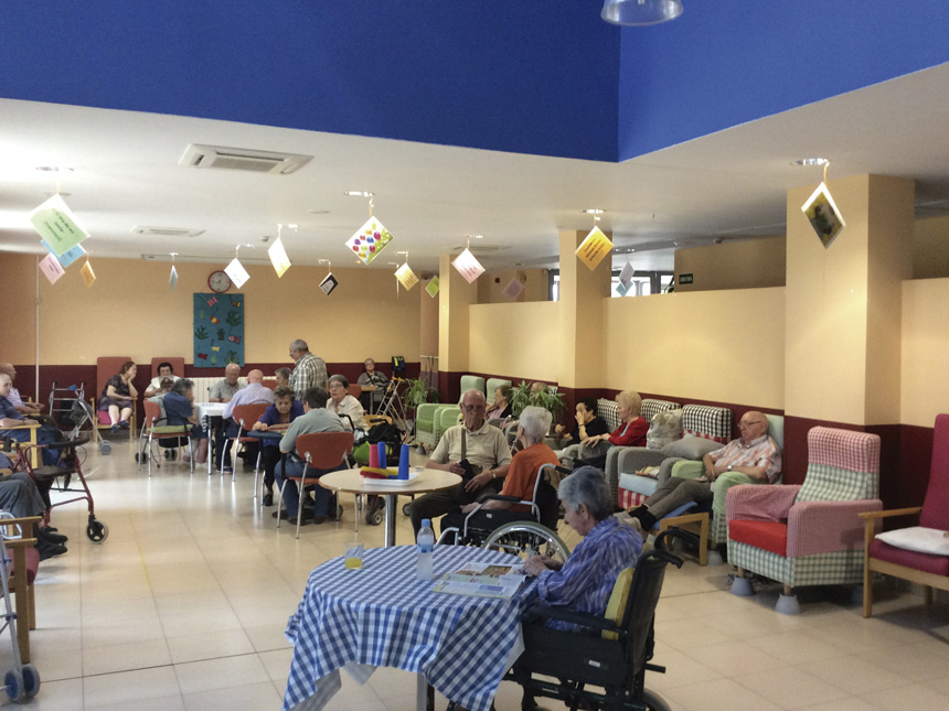 Dia Internacional del Alzheimer a la Residencia Les Franqueses del Vallès
