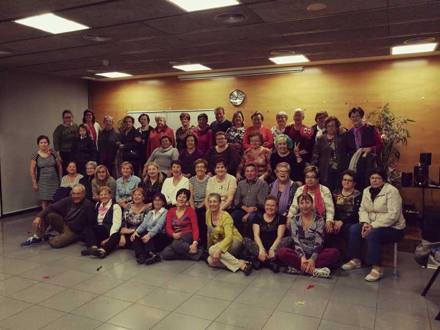 Risoteràpia a la Residència Vila-seca per a gent gran
