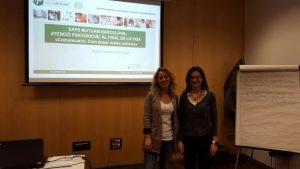 Meritxell Naudeillo i Anna Escolà, professionals dels EAPS