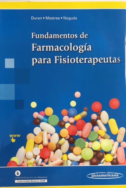 Portada de 'Fundamentos de Farmacología para Fisioterapeutas'