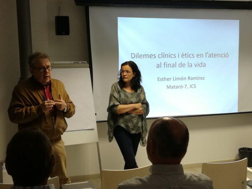 Esther Limón la Curs de Formació Mèdica Continuada