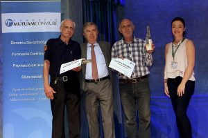 Guanyadors del 1r premi de la Champions Dòmino de Mutuam