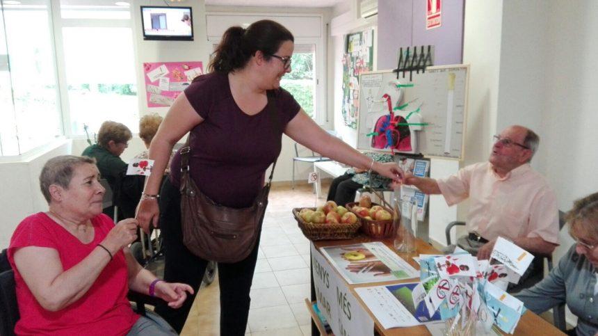 Setmana sense fum a l'Hospital Sociosanitari Mutuam Girona