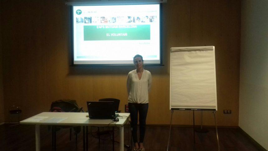 Maria Rufino a la sessió dels EAPS