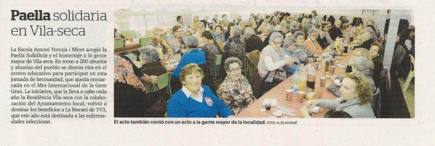 Paella solidària Vila-seca