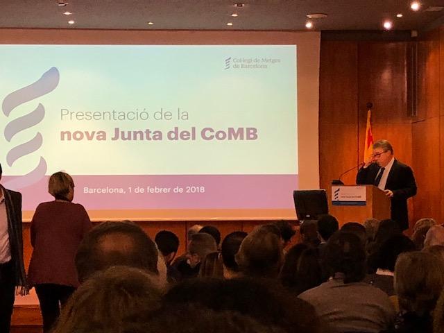 Jaume Padrós al COMB