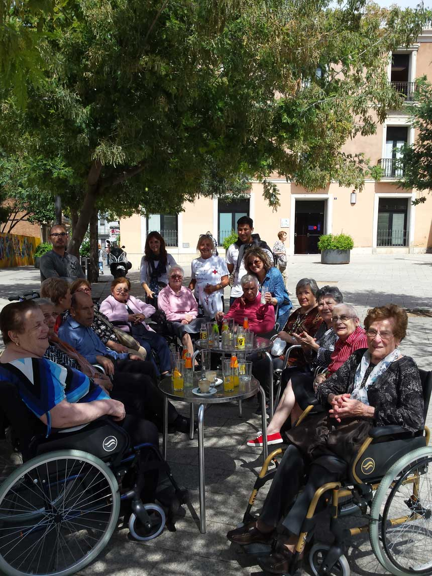 Aperitiu centre de dia Mutuam Sabadell
