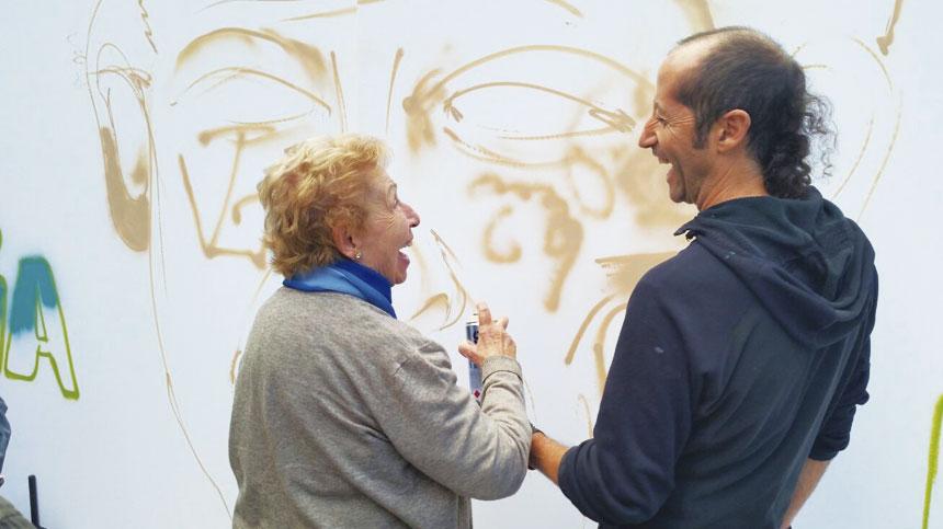Residència Mutuam La Creueta i el Grafiti