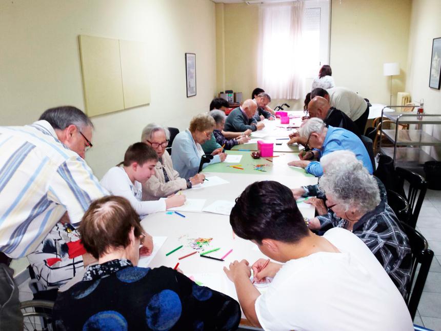 Activitats intergeneracionals a la Residència Mutuam La creueta