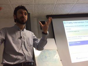 Marco Inzitari, director assistencial, de recerca i docència del Parc Sanitari Pere Virgili