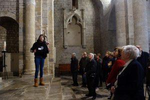 Visita de Mutuam Activa a Santa Maria de Vilabertan
