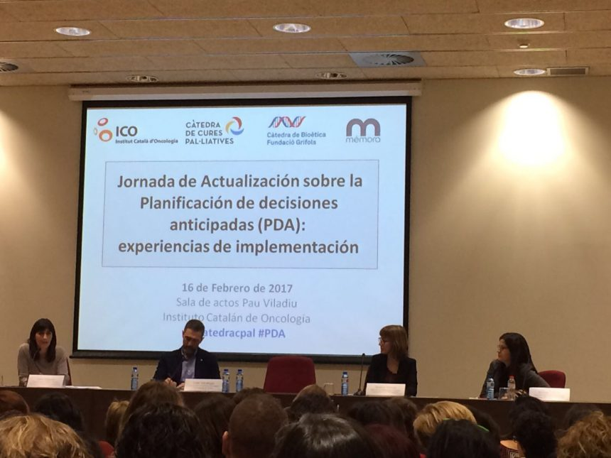 Emma Costas a la Jornada de l'ICO