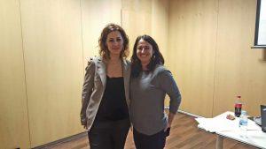 Noèlia Fernández i Sílvia de Quadras, professionals dels EAPS