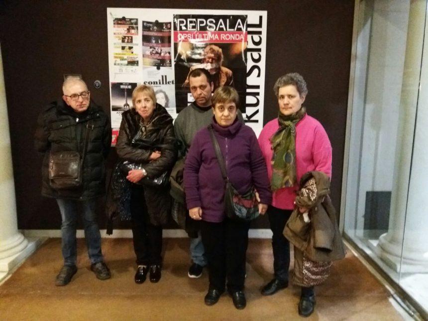 Usuaris del Centre Residencial Mutuam Manresa al Kursaal