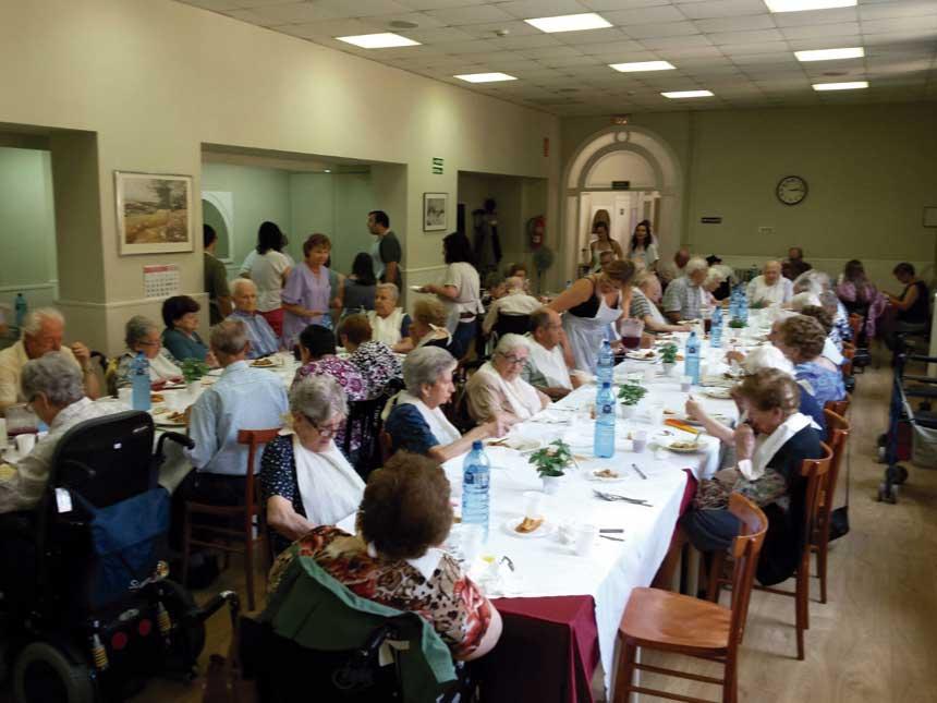 Aniversari Mutuam La Creueta Sabadell gent gran