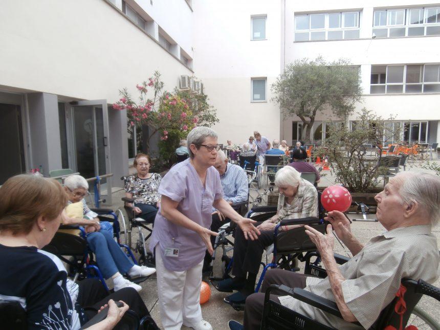 Rehabilitació a la fresca a la Residència Mutuam Manresa