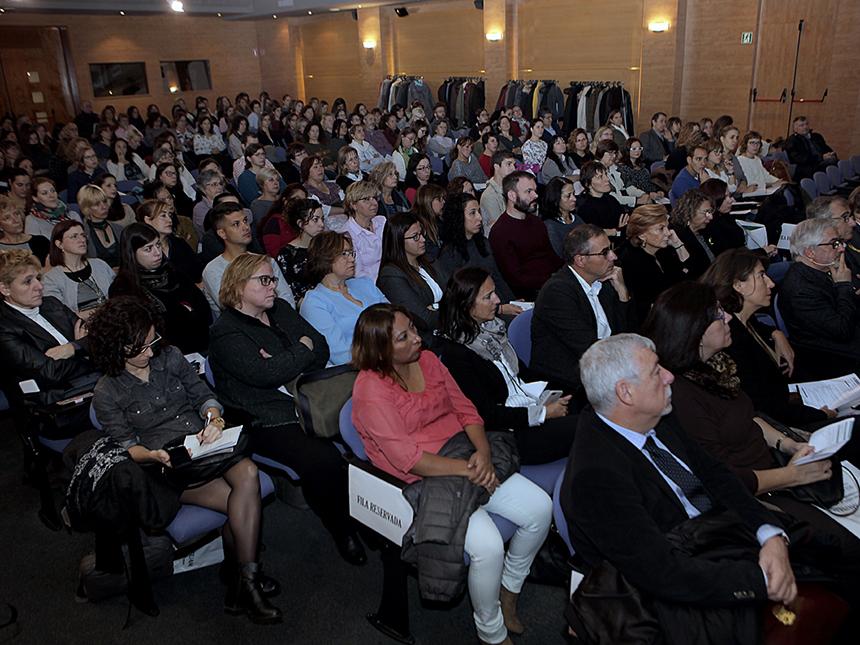 Públic assistent a la Jornada Sociosanitària