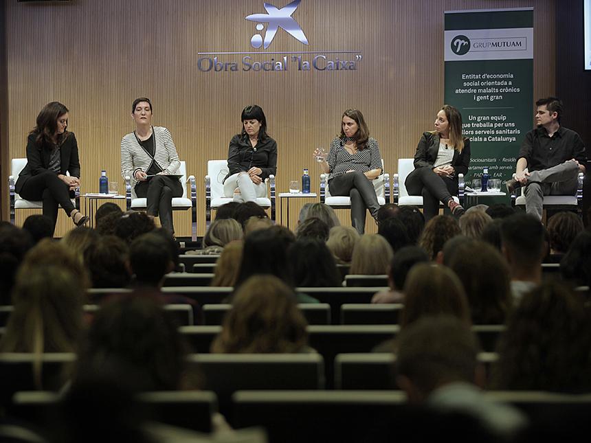 Yolanda Domènech en la I Jornada Residencial