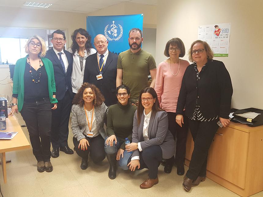 Reunió a l'ICO amb senador europeu