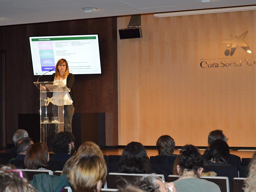 Laura Teruel a la Jornada de Recerca i Innovació