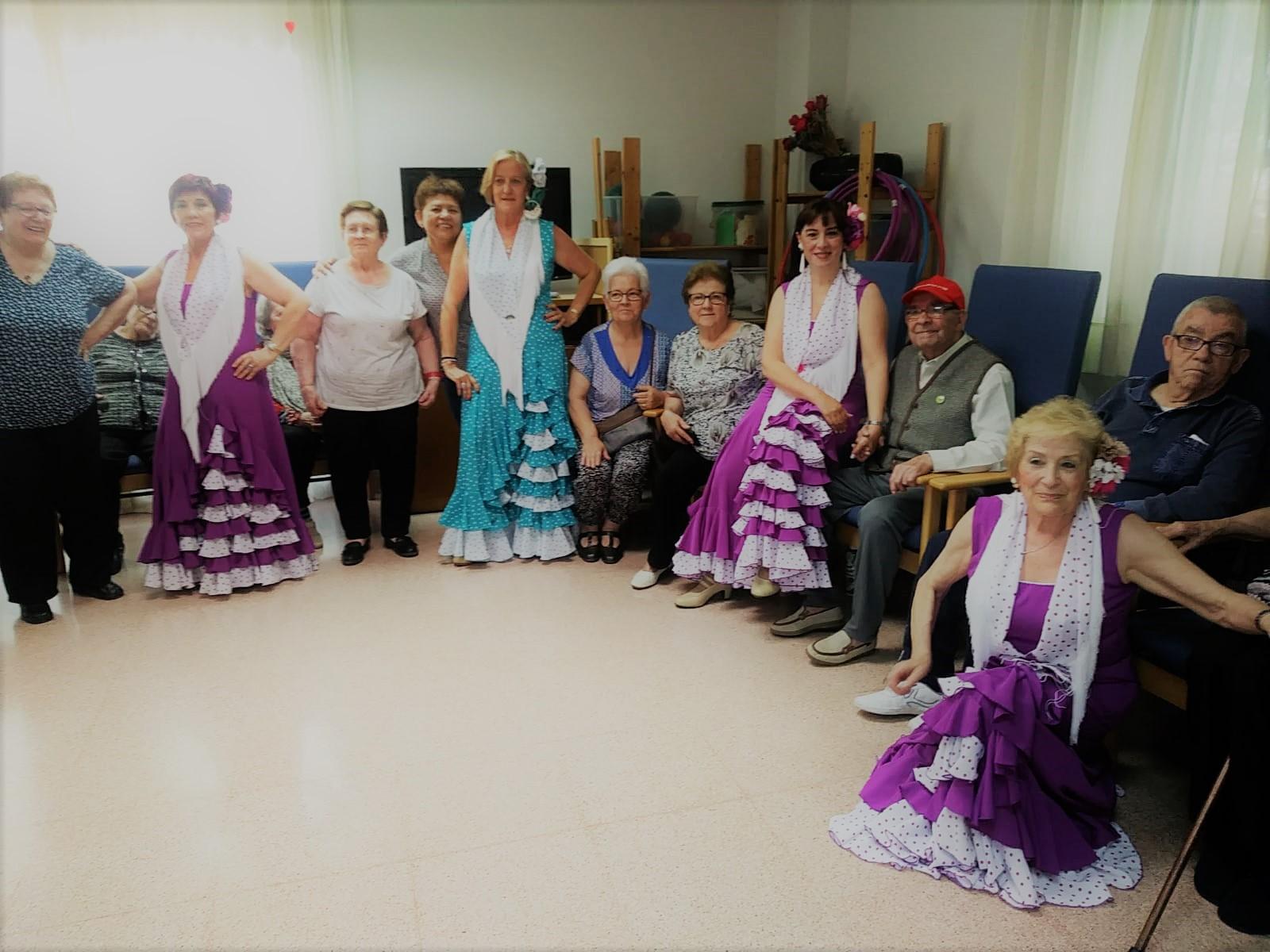 Sevillanes al centre de dia Nova Lloreda Mutuam
