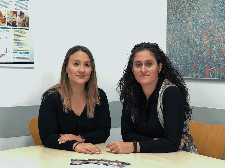 Laura Fèlix i Silvia Mirete
