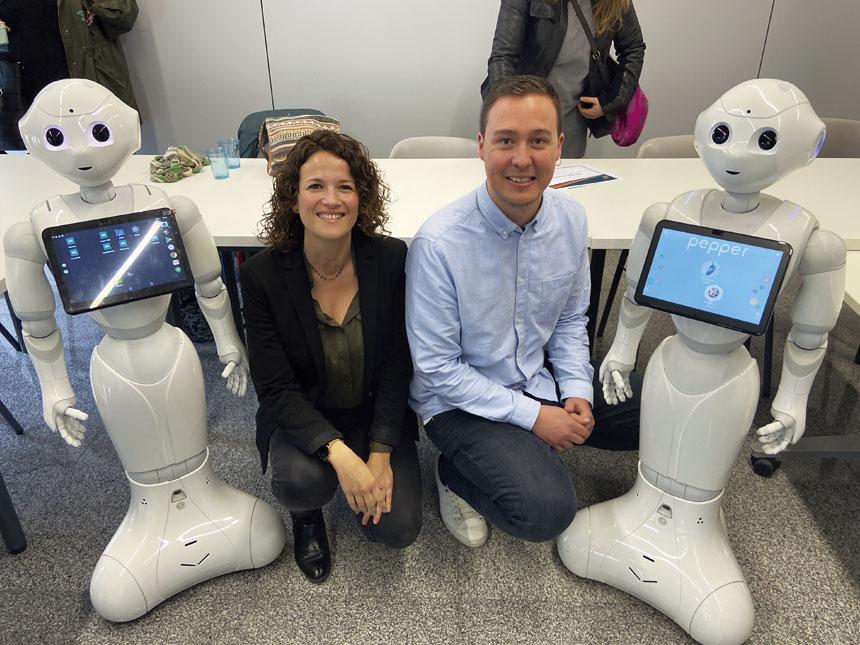 Robotica i gent gran