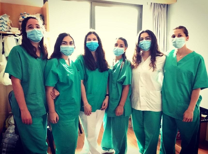 Equip infermeria Ibis i psicòlogues
