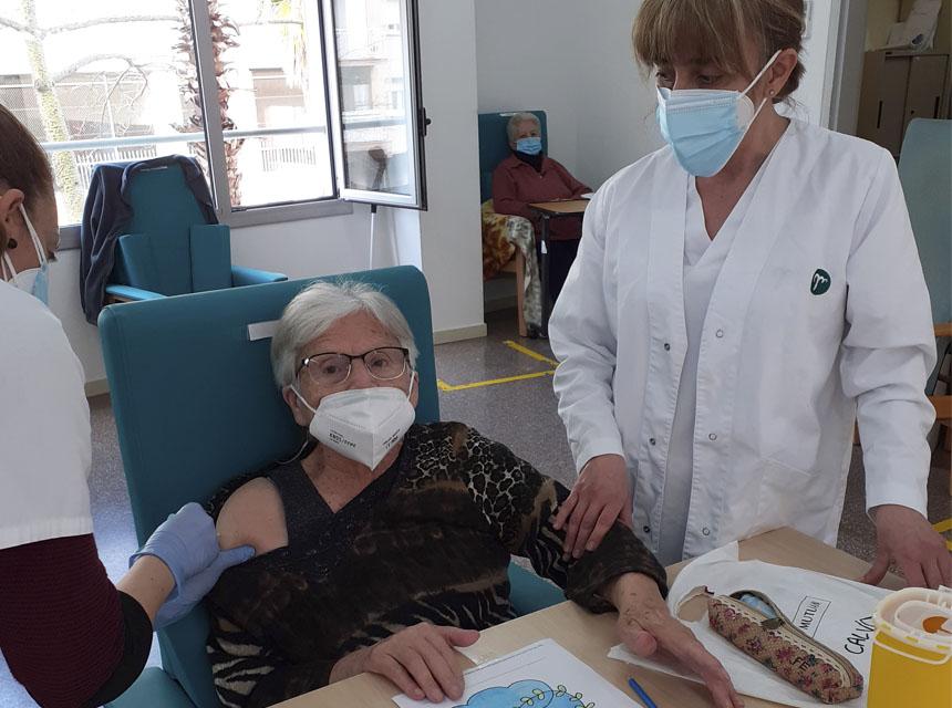 Centre de Dia vacuna Covid-19
