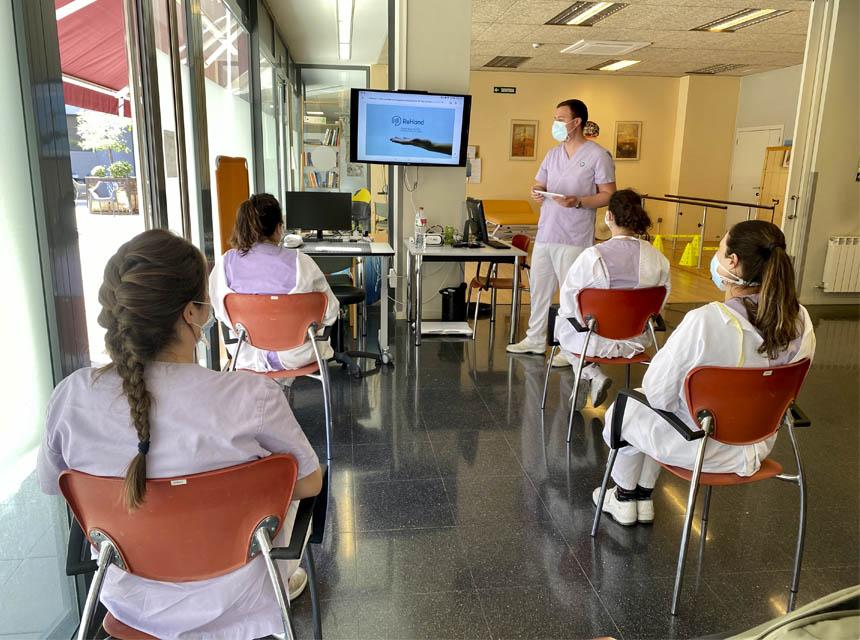 eDCA sessió clínica ReHand