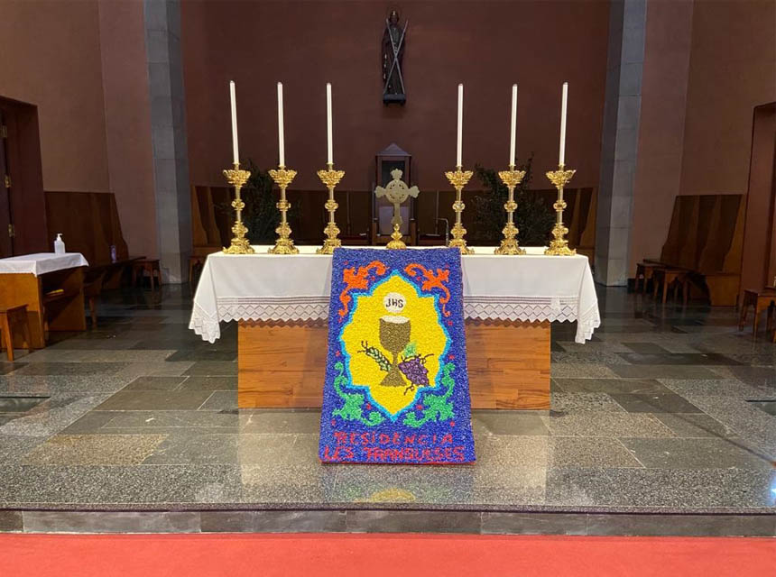 catifa Corpus Cristi Franqueses
