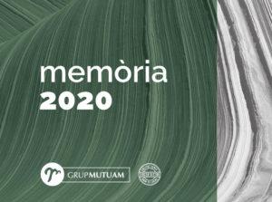 Memòria grup Mutuam 2020
